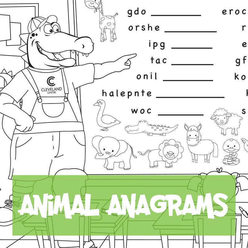 Animal Anagrams