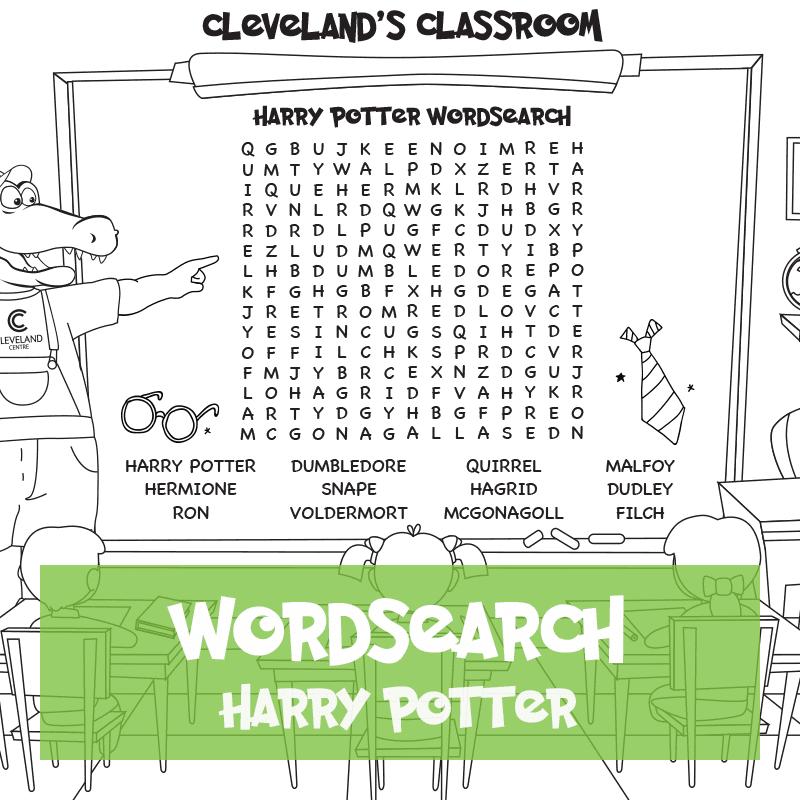 Harry Potter Wordsearch