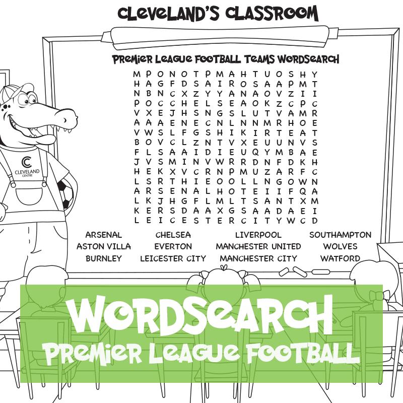 Football Wordsearch