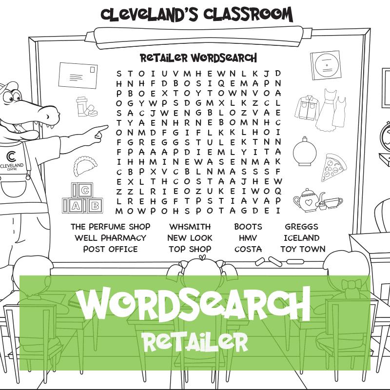 Retailer Wordsearch
